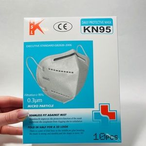 KN95 Face mask. 10pcs/pack. US stock, ships fast!